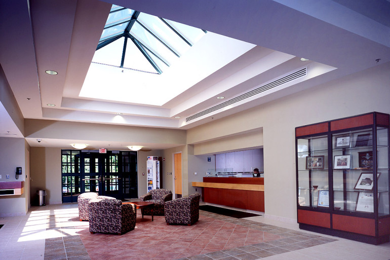 Saline Municipal Building lobby area